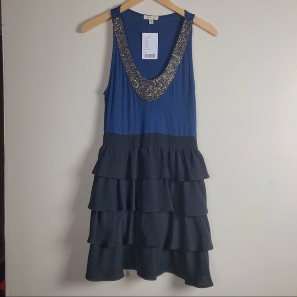 Anthropologie Dresses & Skirts - Silence & Noise Jeweled Knit Dress. SZ 8